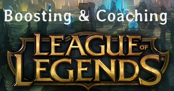 Boosting League of legends ELO boost FR