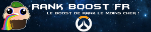 Rank Boost FR console Overwatch boosting Top500 Booster Professional