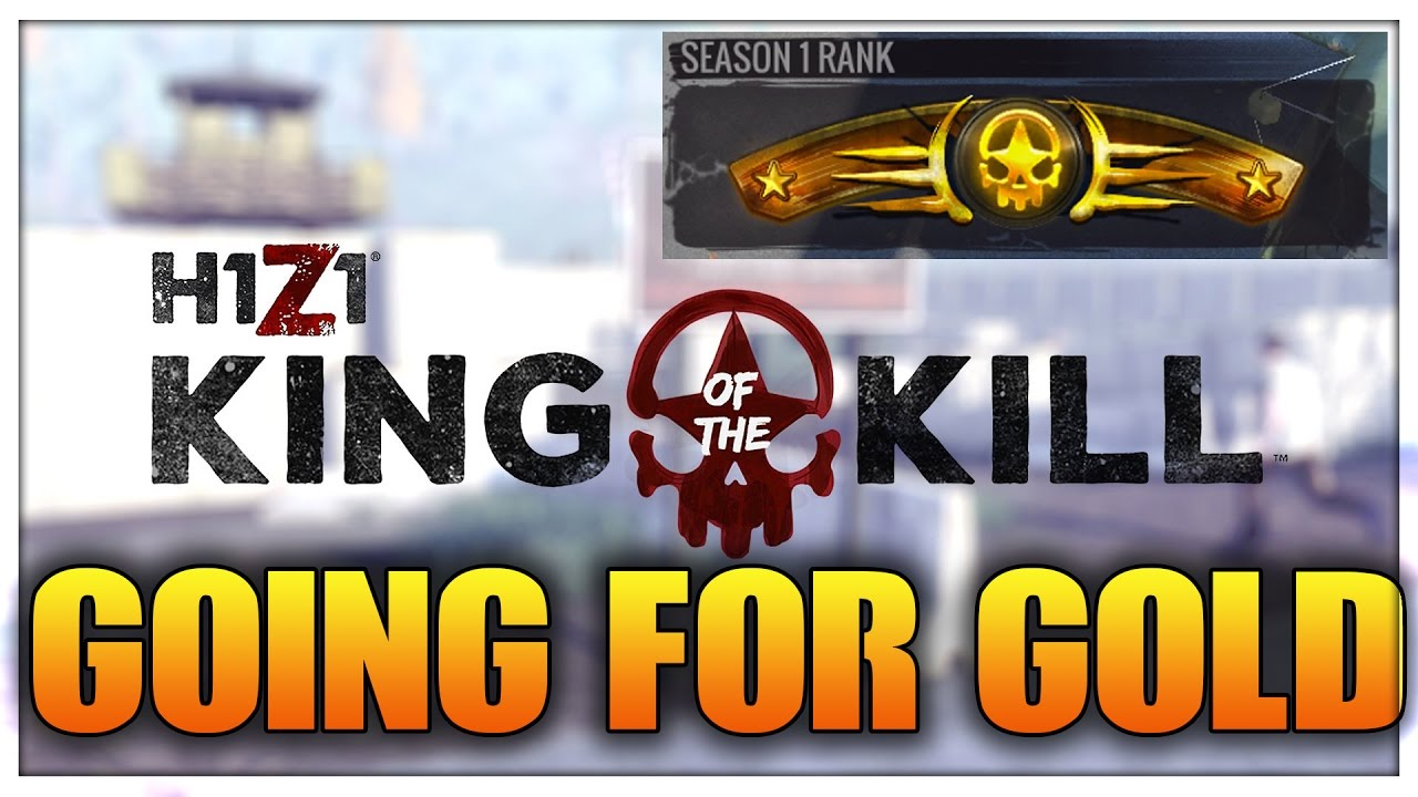 GOLD RANK BOOST BOOSTING h1z1 KOTK Pas cher CHEAP RANKED PRO