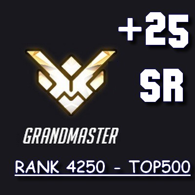 TOP500 RANK BOOST OVERWATCH FR BOOSTING OW