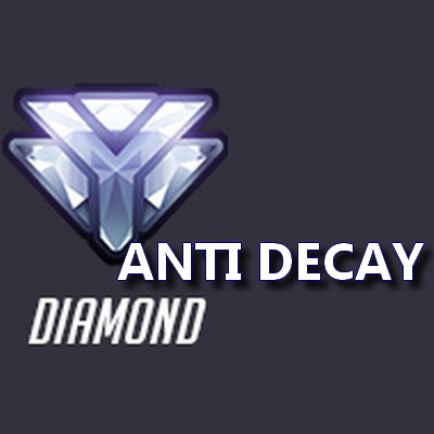 Anti DEcay boost Rank FR
