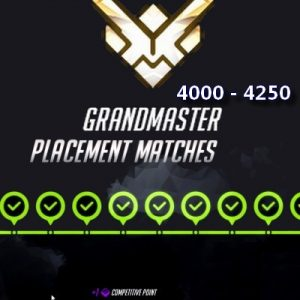 Grandmaster RAnk Boost Overwatch Placement Ranked
