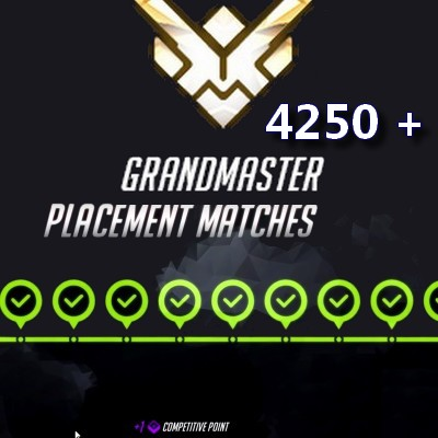 Grandmaster Boosting service Overwatch