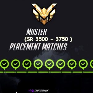 Rank Overwatch Boost Placement Master