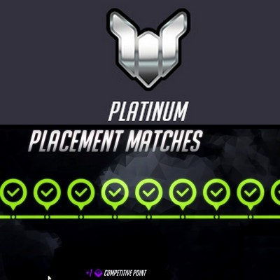 PLATINE PLATINIUM RANK OVERWATCH BOOST PLACEMENT