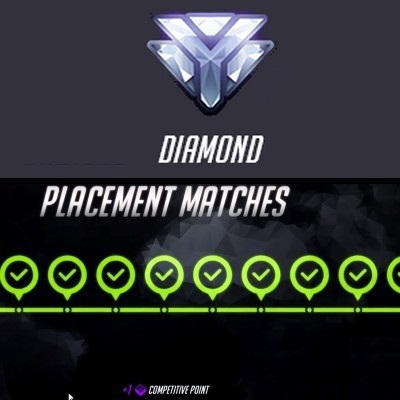match de placement diamant overwatch