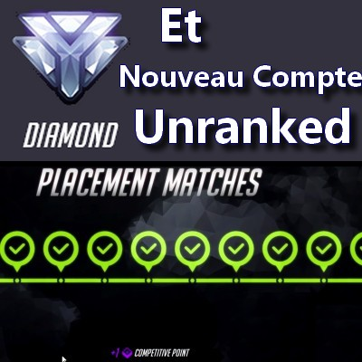 Ranked Placement Overwatch Diamant Unranked Boosting