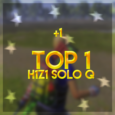 Top 1 SoloQ solo Queue H1Z1 KOTK Boost boosting