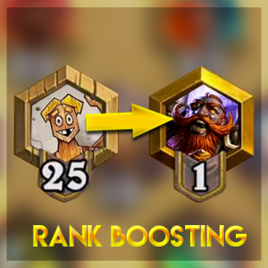 Boosting Rang 25 to legend