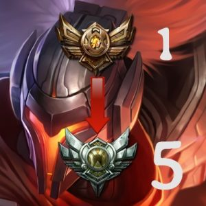 Bronze 1 à Argent 5 Boost LP