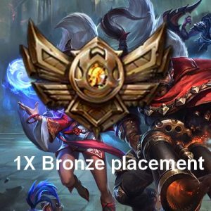 Bronze placements games LoL boost