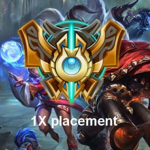 Challenger Placements games league of legends