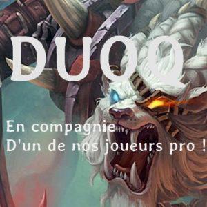 DuoQ avec nos joueurs pro