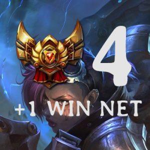 Gold 4 win net Elo Mmr boosting Lol league of legends