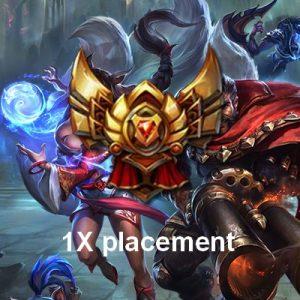 Gold match de placements
