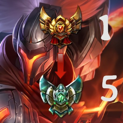 Gold platine Lp Mmr Boosting Duo Solo Boost coaching