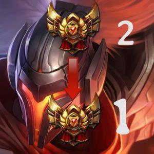 Gold 2 à Gold 1 Boosting Elo