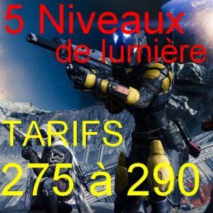 boosting De Lumiere level
