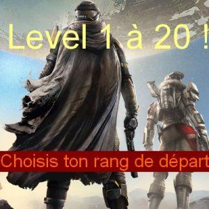 Leveling 1 à 20