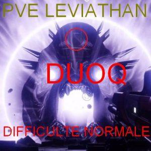 DIFFICULTE NORMALE PVE destiny 2