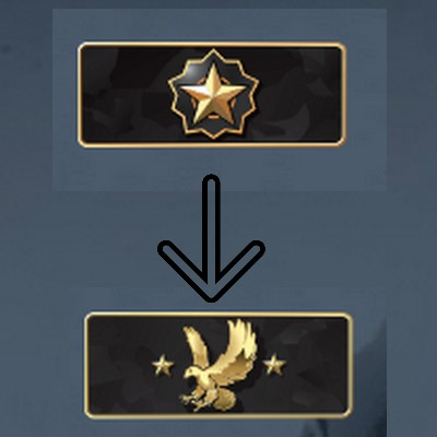 distinguished master guardian à legendary eagle csgo