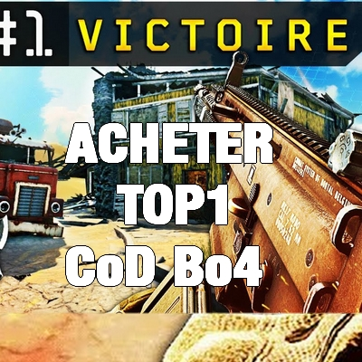 Acheter top1 Victoire Blackout BO4 Cod Call of duty